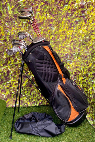 Complete Golf Set, Adams Golf Woods, Adams Golf Irons, Nike Putter, Ram 7 Way Stand Bag..In Excellent Condition!!!!