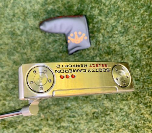 "Scotty Cameron Select Newport 2 Putter, RH, 35"" With H/C- Mint Condition!"