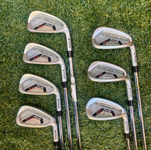 Ping i25 Black Dot 5-Uw Iron Set, RH, Ping CFS Stiff/Regular Steel Shafts-Good Condition!