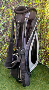 Ram 7 Way Stand Bag With Rain Cover, Black/Grey- Fair Condition!!!
