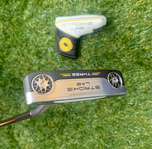 "Odyssey Tour Issue Stroke Lab Three Putter, RH, 35"" With H/C, NEW!!!"