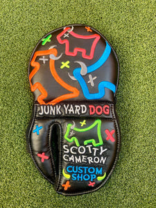 Scotty Cameron Custom Shop, Freestyle Neon, Junk Yard Dog Mid Round HeadCover -Limited Release- NEW!!!!