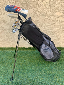 Complete Golf Set, TaylorMade Woods, TaylorMade Irons, Odyssey Putter, Ogio 6 Way Stand Bag..In Excellent Condition!!!!