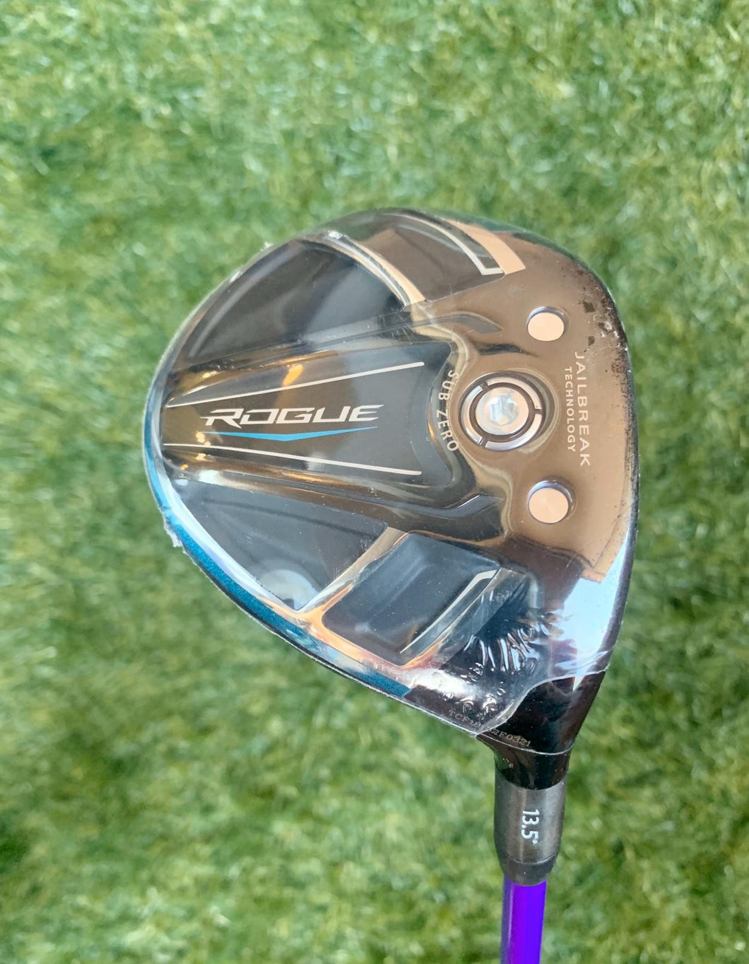 Tour Issue Callaway Rogue 13.5* Fairway Wood, RH, Oban Kiyoshi Purple 05 75g   Shaft....NEW!!