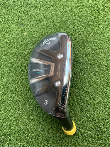 BRAND NEW!!... Tour Issue Callaway Rogue With JailBreak Technology 19* 3 Hybrid Head, RH, HEAD ONLY.