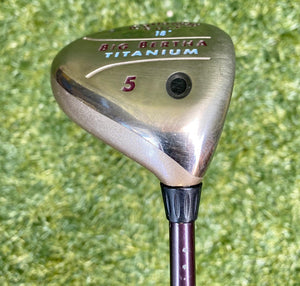 Callaway Golf Big Bertha Titanium 18* 5 Wood, RH, Big Bertha Gems 55 Ladies Flex Graphite Shaft- Very Nice
