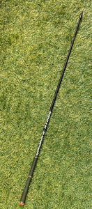 "Fujikura Atmos Black 6R Driver Shaft, LH, 44.50"" With TaylorMade Adaptor- Very Nice!!"