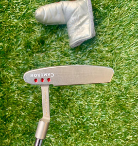 "Scotty Cameron Pro Platinum Newport Mil-Spec Putter, RH, 35"" With H/C . Very Nice!!!!"