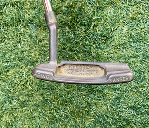 "Ping Karsten Anser Version 1 Putter, Manganese Bronze, RH, 35.5"" No H/C- Good Condition!"