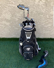 Complete Golf Set ,TaylorMade Irons, Putter , TaylorMade Cart Bag, Very Nice!!!