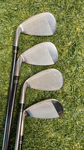 TaylorMade Rac R7 CGB 3-Pw Iron Set, RH, TaylorMade R7-55 Hyper Lite Regular Graphite Shafts- Good Condition