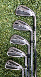 Nike SlingShot Tour 3-Sw Iron Set, RH, Dynamic Gold S300 Stiff Steel Shafts- New Grips, Good Condition!!!