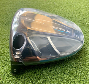 Tour Issue Callaway Rogue 9.0* Driver, LH, HEAD ONLY!!!