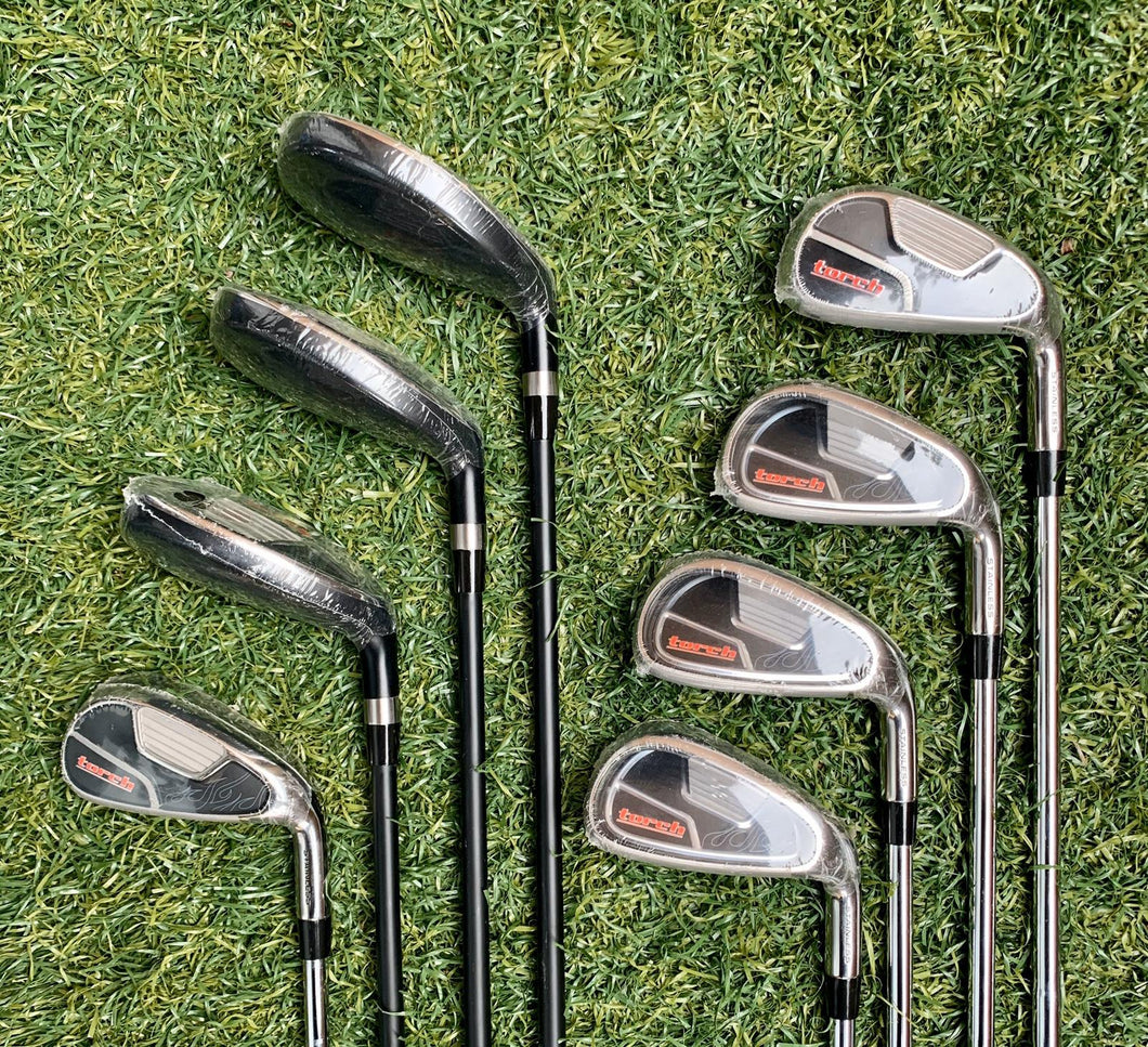 Tommy Armour TA-24 3-Pw Hybrids & Irons Set, RH, DLT UniFlex Graphite/Steel Shafts- New!
