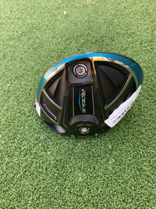 MINT!!.. TOUR ISSUE RH CALLAWAY ROGUE DRIVER HEAD ONLY!!!