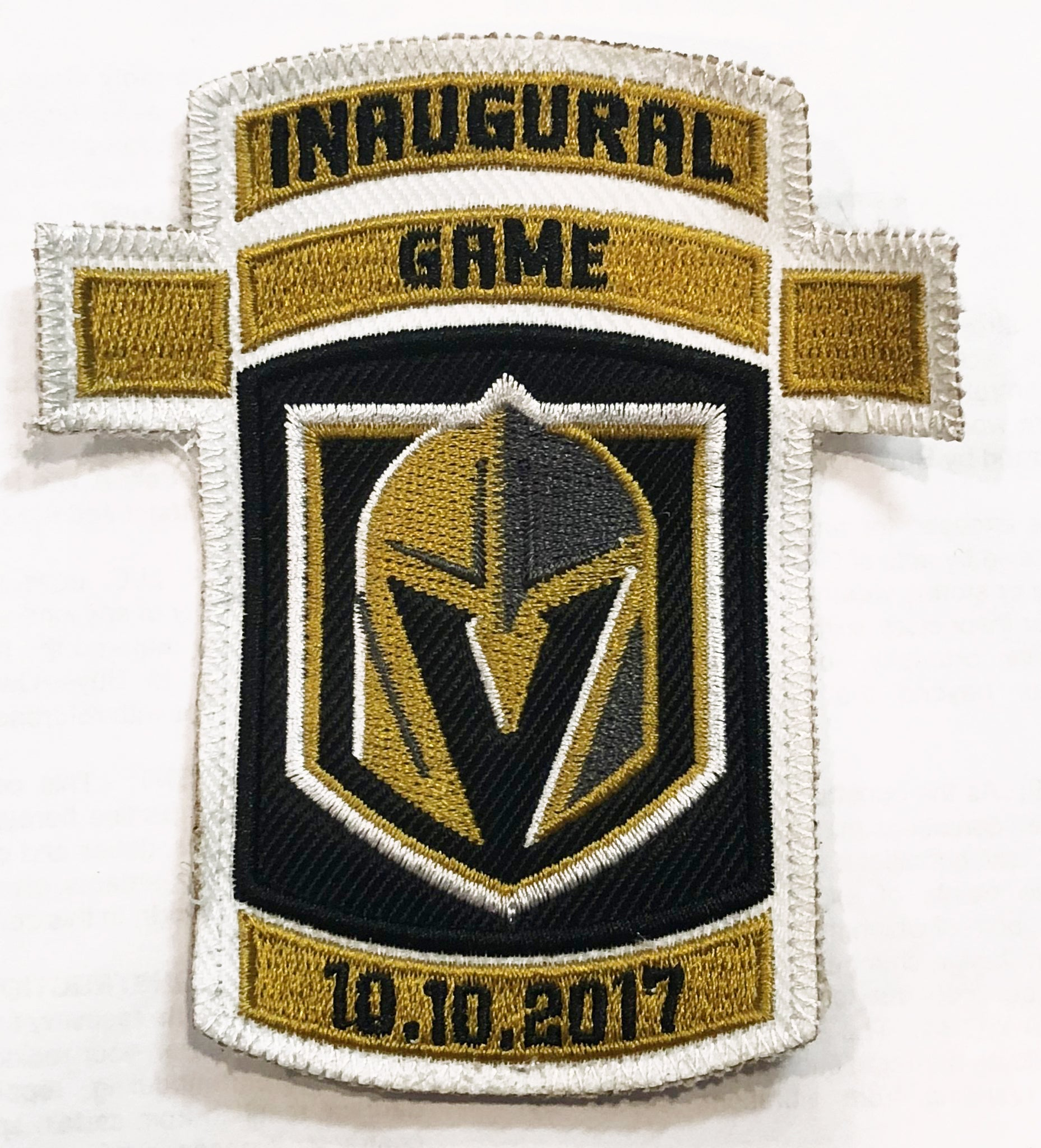 47a2aafc113 Vegas Golden Knights Patches - JUST PATCHES (Inaugural Game ...