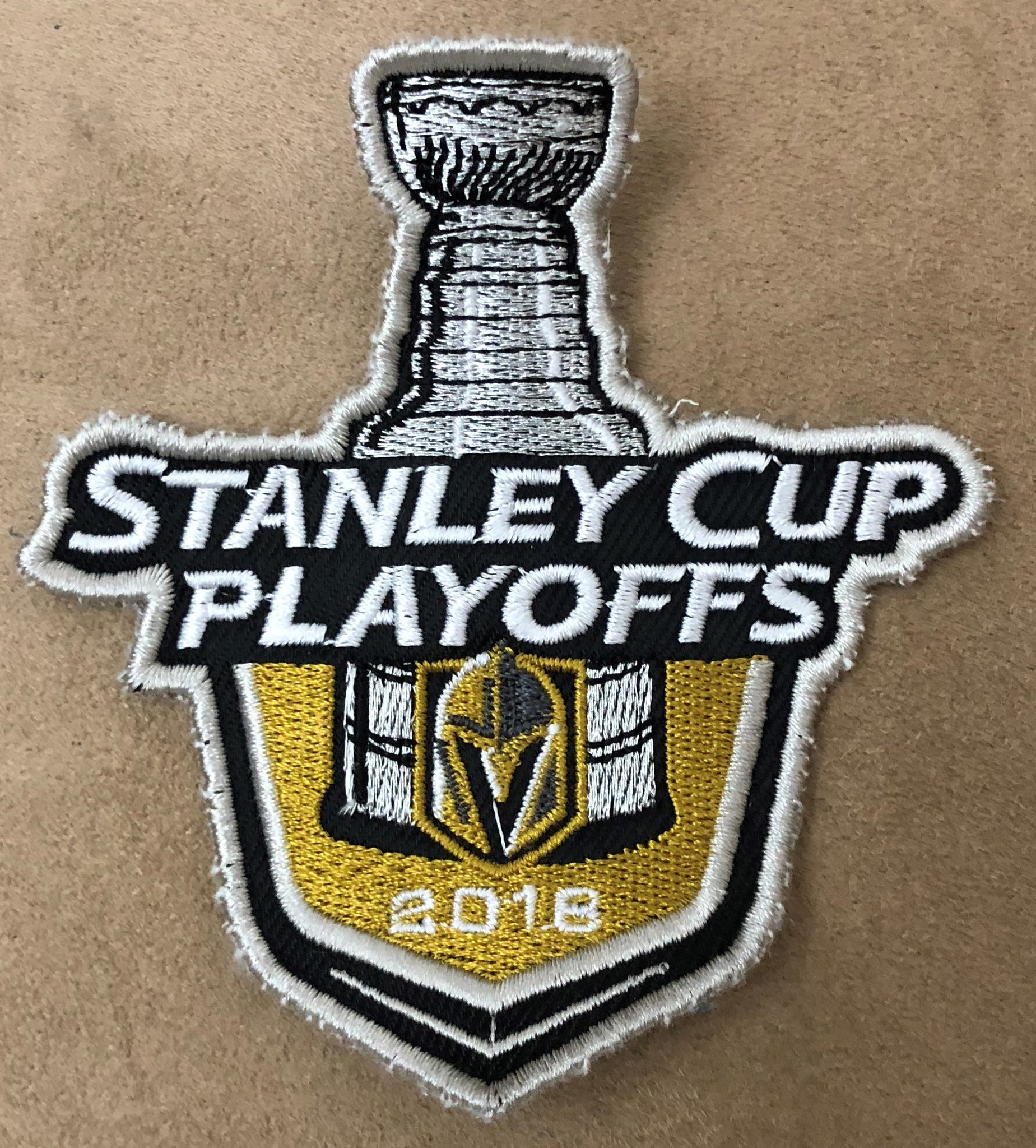 Vegas Golden Knights 2018 Stanley Cup Playoff Patch