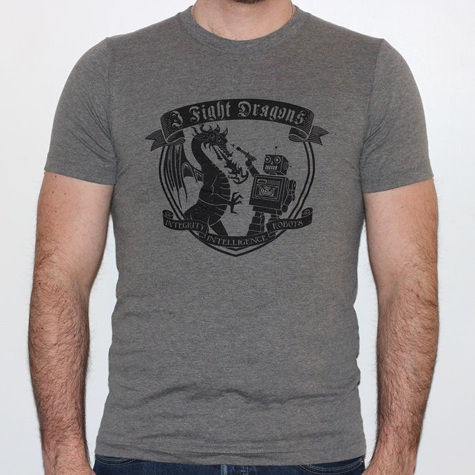 I Fight Dragons Crest T-Shirt
