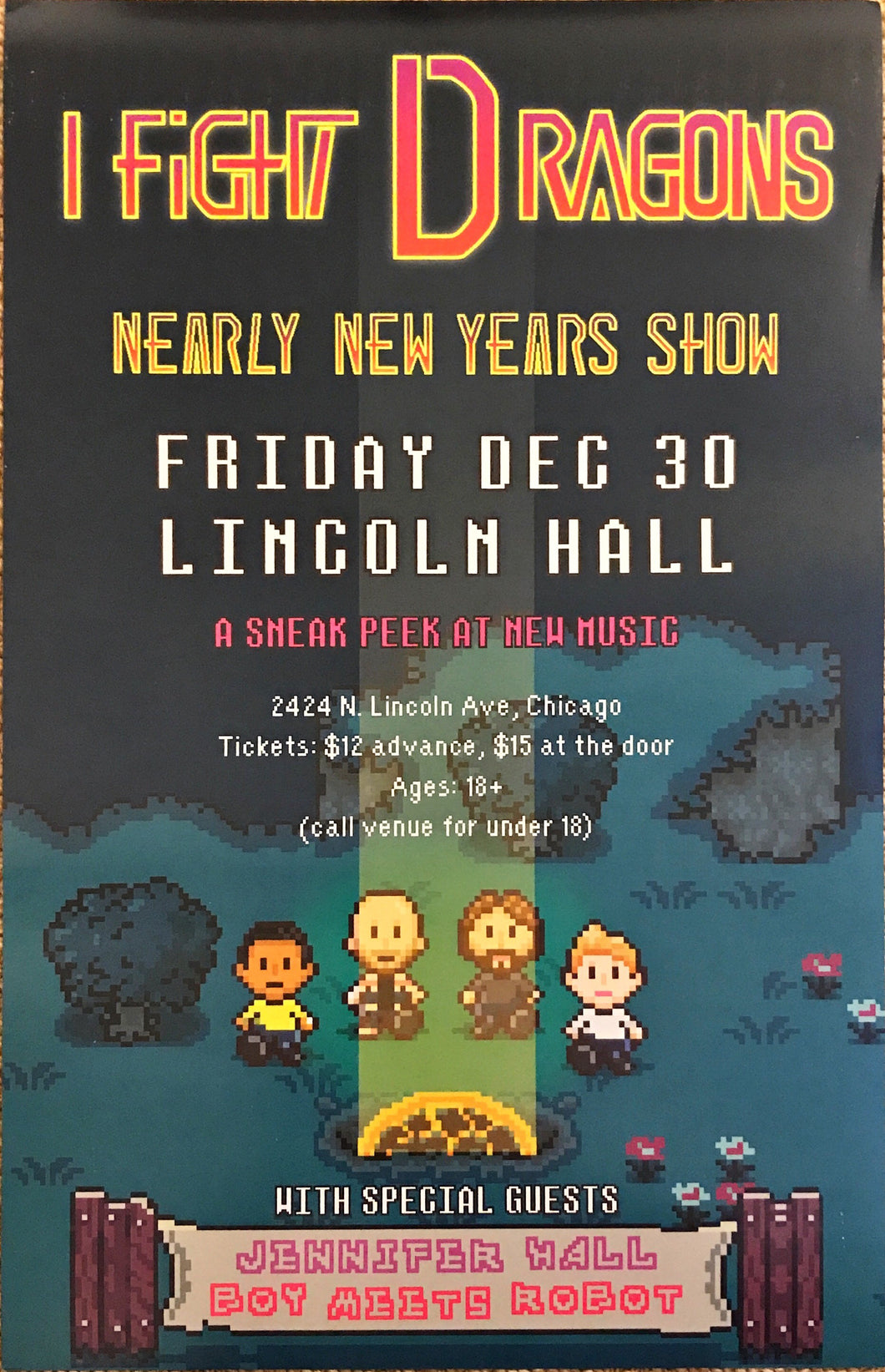 Nearly New Years 2016 Poster