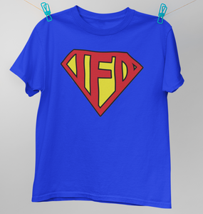 I Fight Dragons Superman T-Shirt  (discontinued) (Sizes XS,S,M)