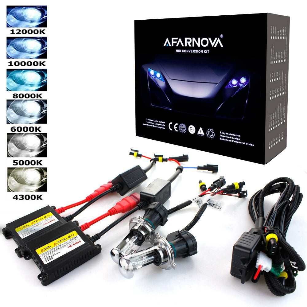 Xenon H7 35W AC 55W Slim Ballast kit HID Best Headlight bulb 12V H1 H3 H11 H7