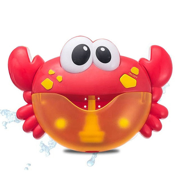 Official Bubble Machine Crabs Music Kids Bath Toy