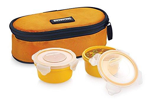 Smart Lock SML-301 Airtight Tiffin Box With Insulated Bag 2pc Set
