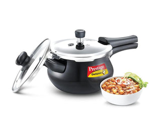 Prestige DLX DUO PLUS HA Handi With Glass Lid 3.3LTR