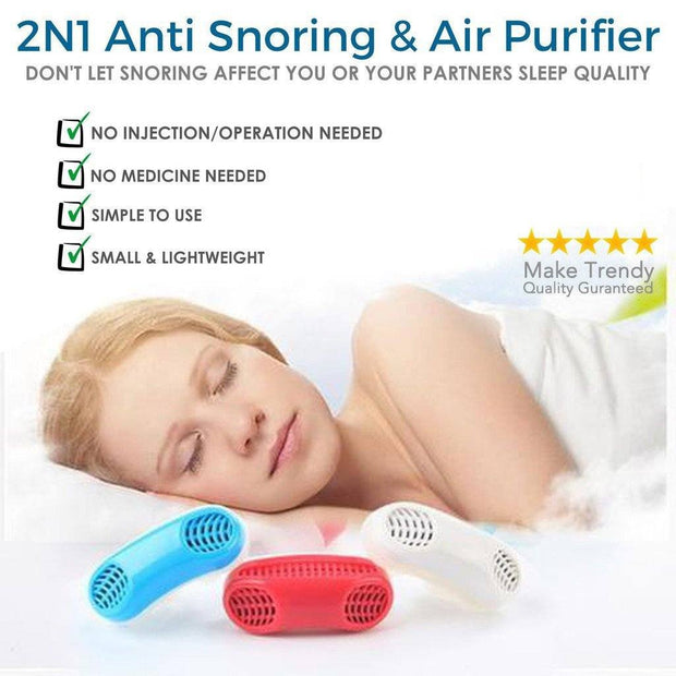 Anti-Snore Device: Sleep Aid