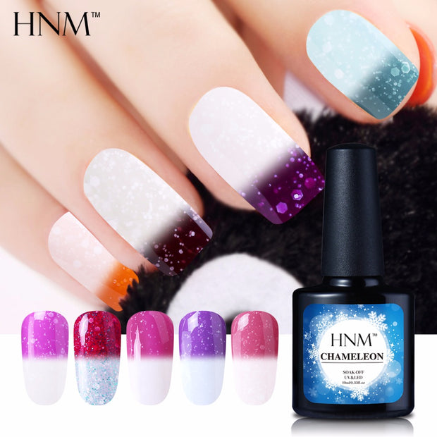 Color Changing, Heat Activated Nail Gel Polish