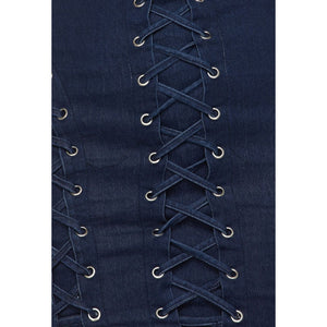 Addictive Denim Dress - Strait Laced Boutique