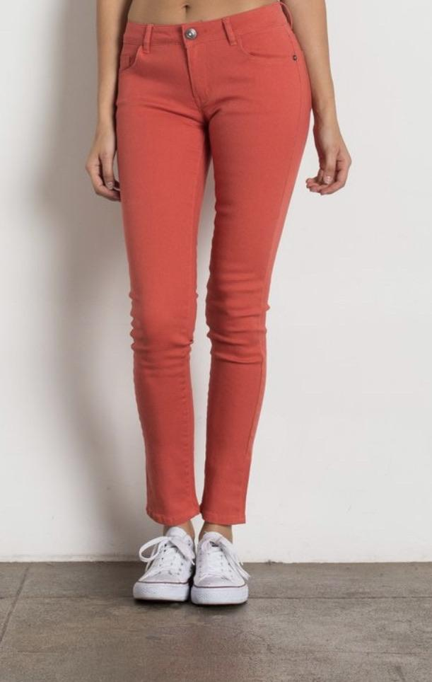 Coral Baby Skinny Jeans