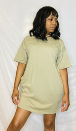 Understated Olive Green Dress
