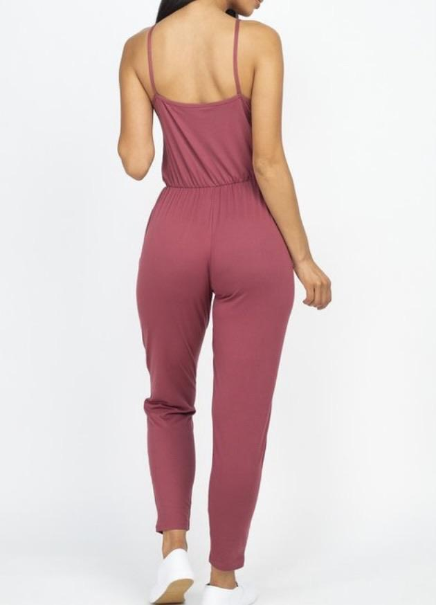 Solid Chic Jumpsuit