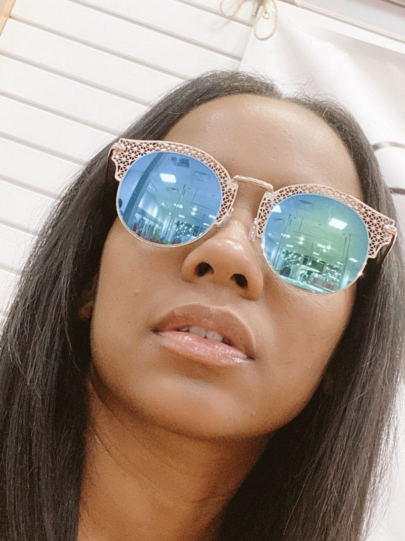 Cool Me Down Mirror Glasses