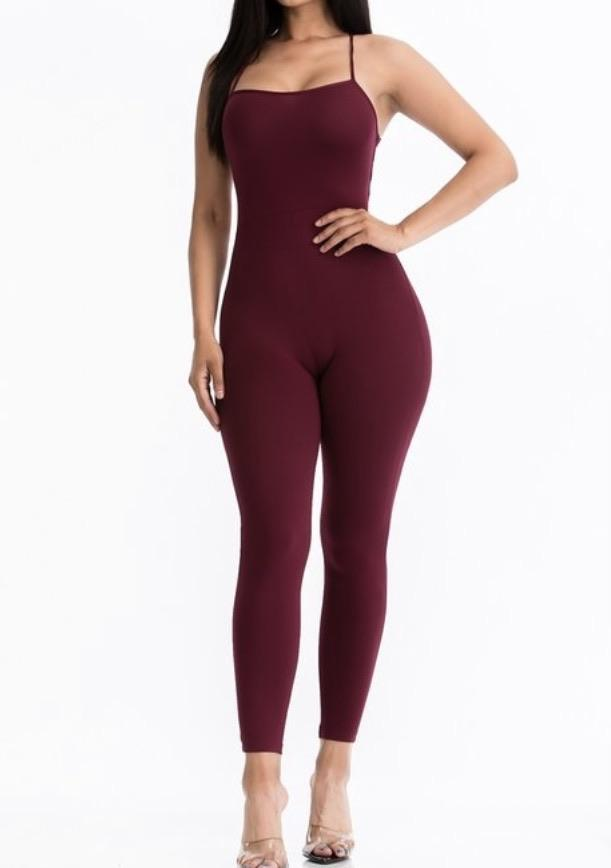 Got Your Back Bodycon Jumpsuit