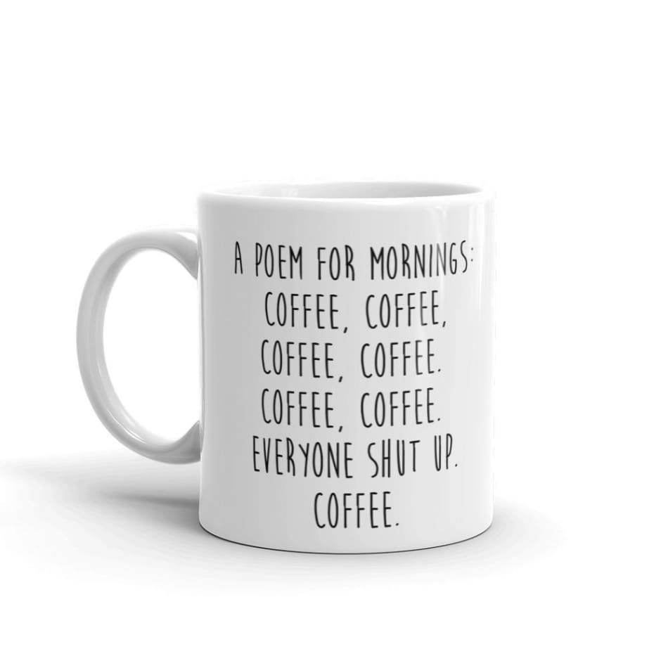 A Poem for Mornings Coffee Gifts $12.99