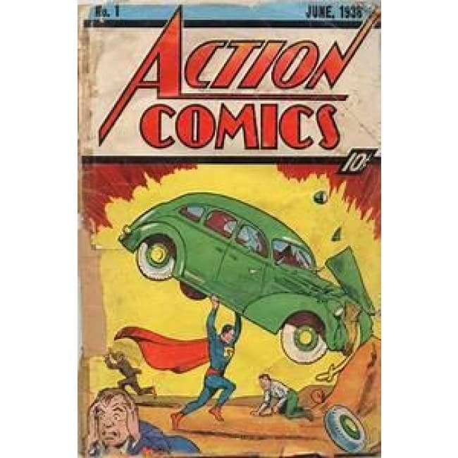 Action Comic No.1 Cover Tin Sign Home & Decor $11.95