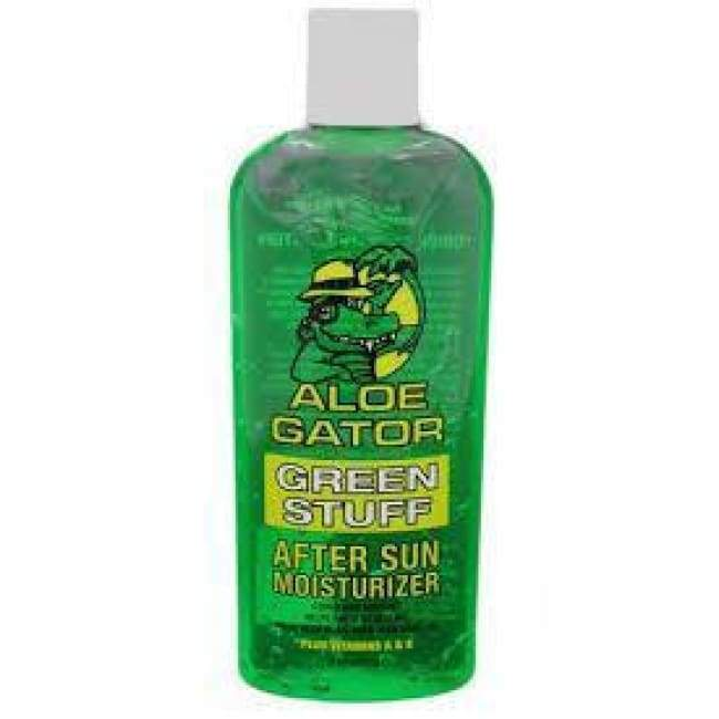 Aloe Gator Green Stuff After Sun Moisturizer General Merchandise $6.99