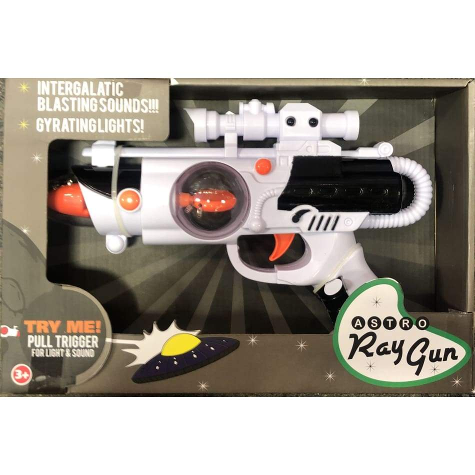 Astro Ray Gun With Intergalactic Blasting Sounds Toys $14.99