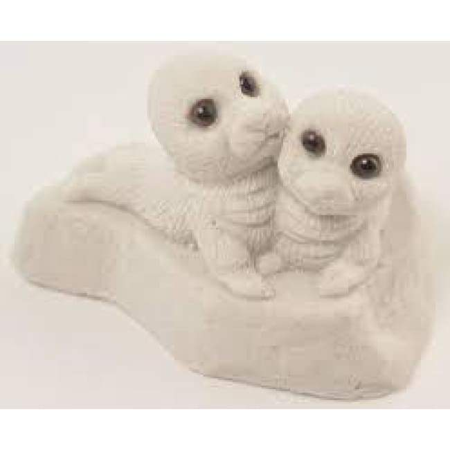Baby Seals Sand Figurine Home & Decor $11.99