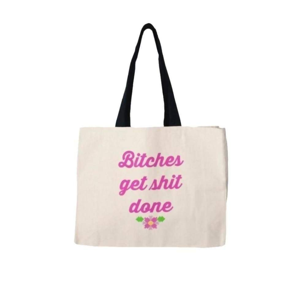 B!@#h Get Shit Done Twisted Tote General Merchandise $29.99