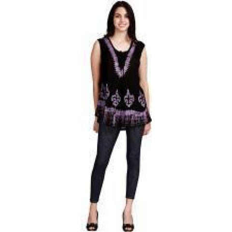 Blouse Tank Batik 4 Asst Colors Apparel $19.99