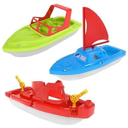 Boat Assortment 3 Styles 10 Toys $5.99