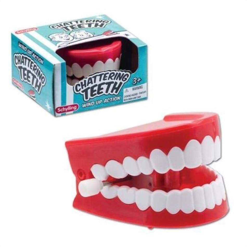 Chattering Teeth Wind Up Toys $4.99