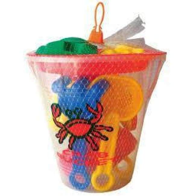 Crab Bucket Playset Toys $12.99