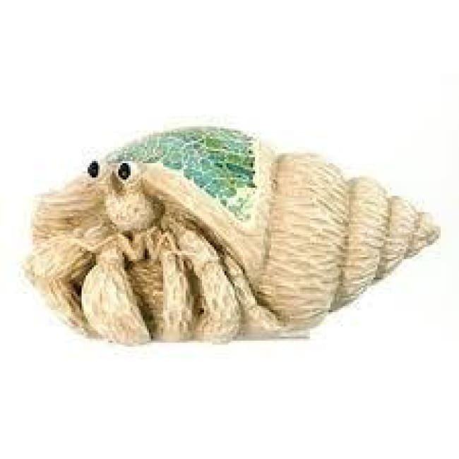 Crushed Glass Hermit Crab 6 Home & Decor $14.99