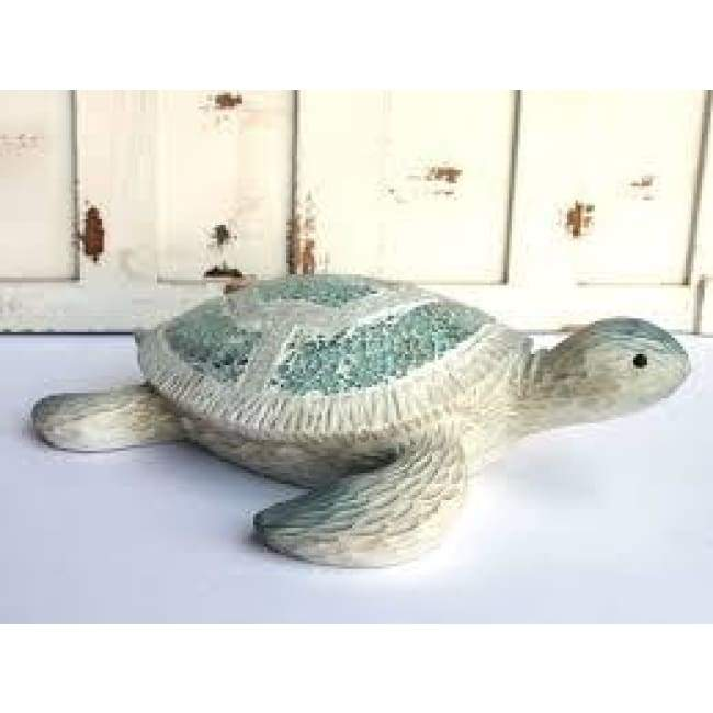 Crushed Glass Turtle 5 Home & Decor $14.99