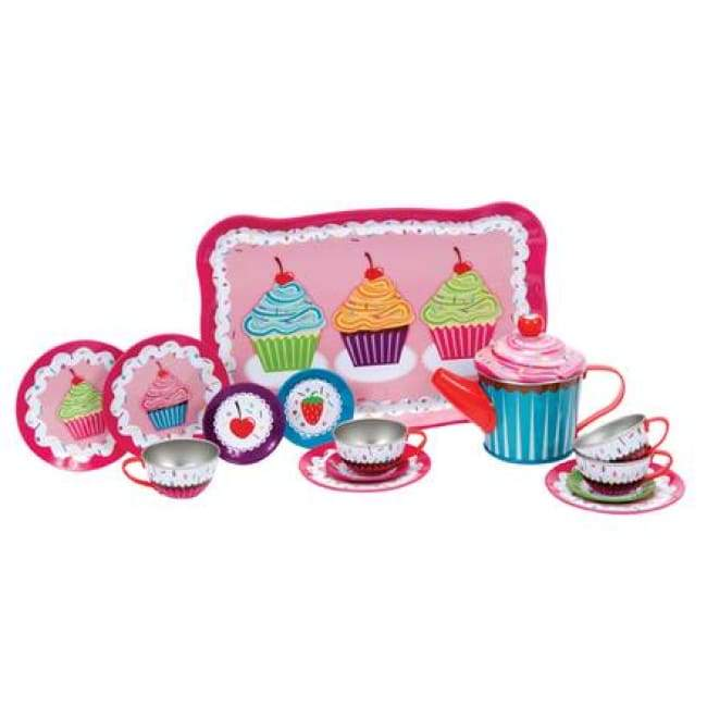 Cupcake Tin Tea Set Toys $24.99