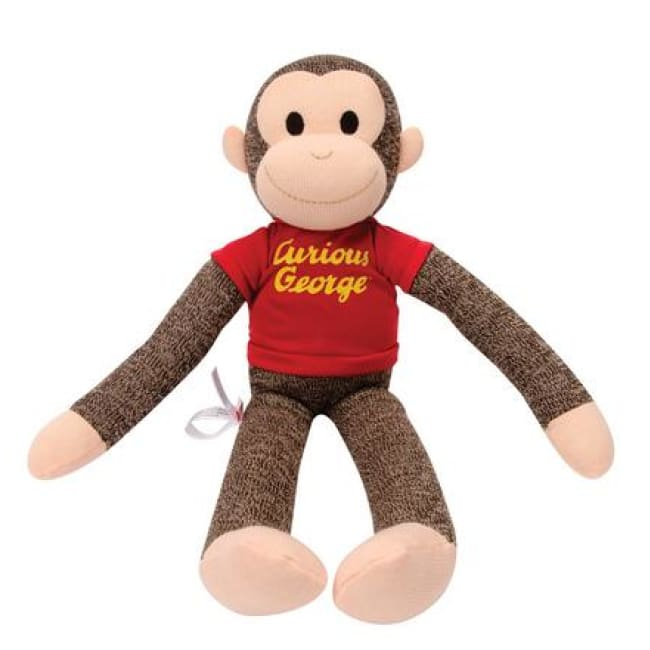 Curious George Plush Toys $24.99